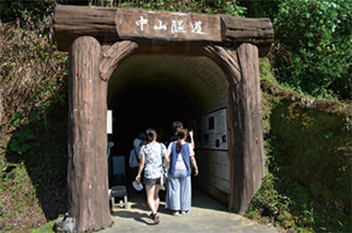 【写真】隧道の入り口